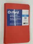 DS OXFORD INDEX CARD BINDER 2 RING