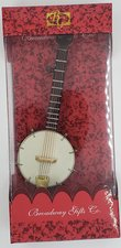 BWG ORNAMENT WITH BOX BANJO