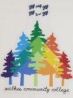 BLUE84 STICKER RAINBOW TREES