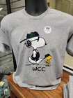 SNOOPY & WOODSTOCK IN OVERALLS WCC TEE